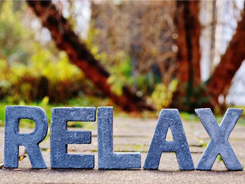 Relaxation par les 3 sens : ouie, vue, odorat