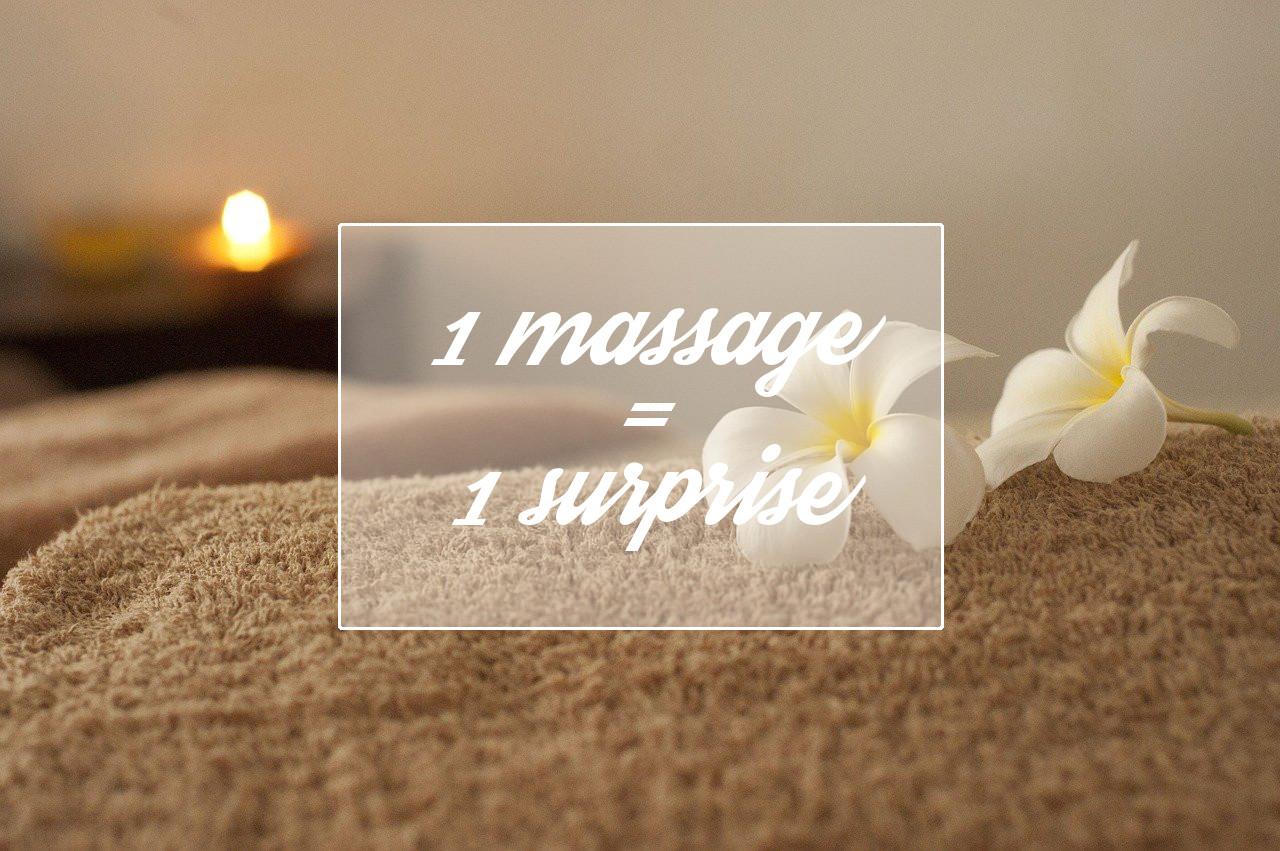 Offre spéciale 1ère séance de massage